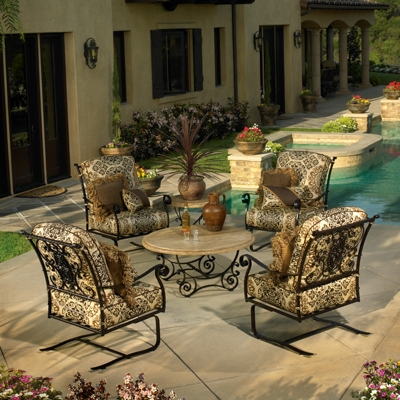 How To Identify Quality Wrought Iron Furniture - Today´s Patio