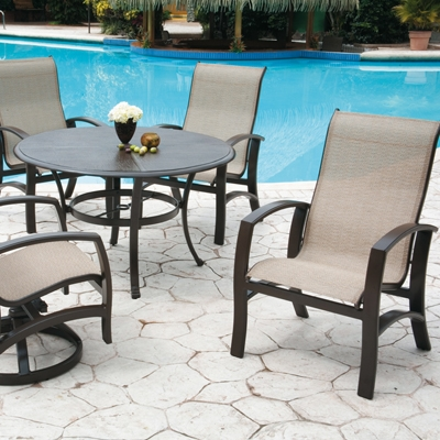 Sling Patio Furniture And Your Pool - The Perfect Couple