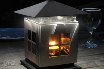 Outdoor Lighting With A Twist - Thermoelectric Power