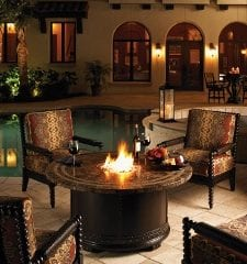 Outdoor Space an Evening Oasis - Today's Patio