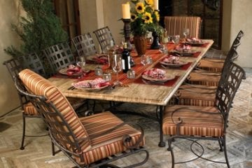 Bigger and Better Patio Dinner Tables - Today's Patio