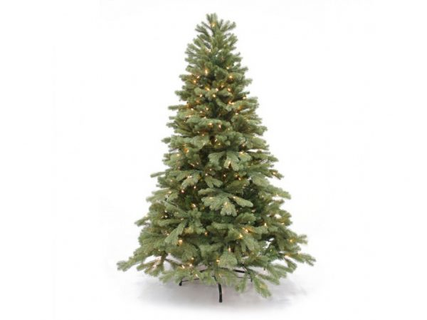 6.5' Northwest one plug artificial Christmas tree - clear lights