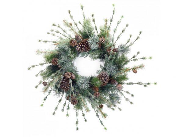 Rustic birch branch wreath