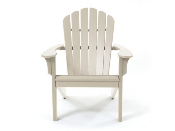 Coastline Casual natural Adirondack chair front view