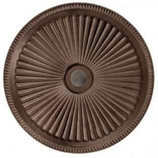 Classic umbrella base 50lb - Bronze top view
