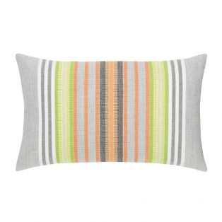 Spring Stripe lumbar pillow from Elaine Smith