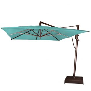 10' x 13' rectangle cantilever umbrella - Canvas Aruba