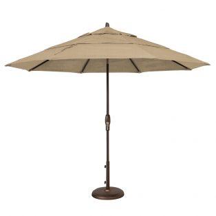 11' Market umbrella - Heather Beige