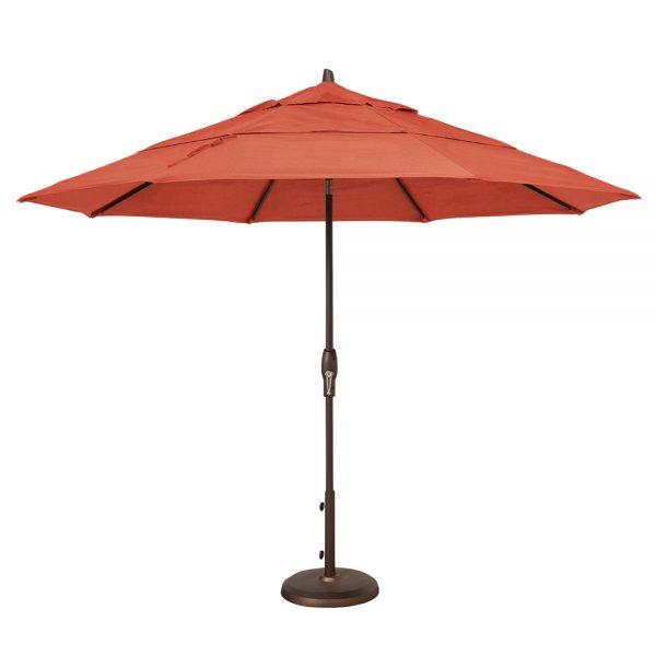 11' Market umbrella - Jockey Red