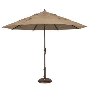 11' Market umbrella - Sesame Linen