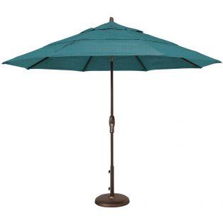 11' Market Umbrella - Spectrum Peacock