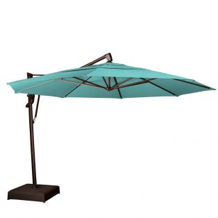 13' octagon cantilever umbrella - Aruba