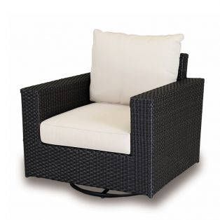 Solana swivel rocker club chair
