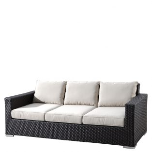 Solana wicker sofa