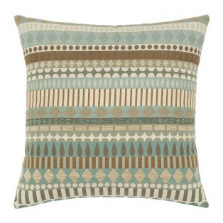 "19"" square outdoor throw pillow from Elaine Smith - Spa Deco"