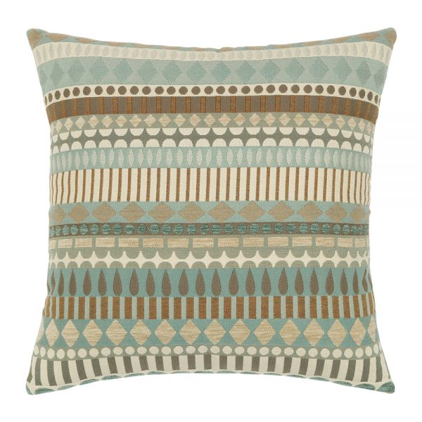 """19"""" square outdoor throw pillow from Elaine Smith - Spa Deco"""