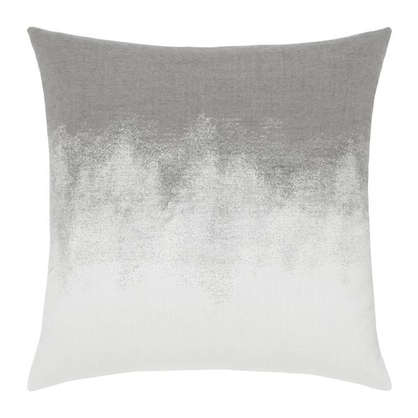 "Elaine Smith Artful Charcoal 20"" square outdoor pillow"