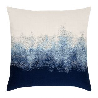 "Elaine Smith 20"" designer pillow - Artful Midnight"