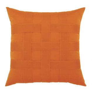 """20"""" Basketweave Tuscan square patio throw pillow from Elaine Smith"""