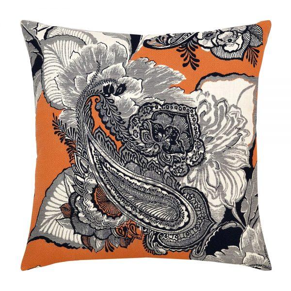 "Elaine Smith 20"" square designer pillow - Celestina Midnight"