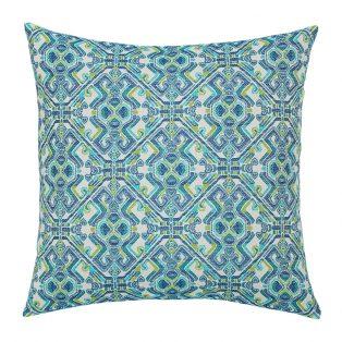 """Elaine Smith 20"""" designer throw pillow - Delphi"""