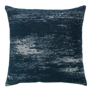 """20"""" Distressed Indigo Double Sided outdoor pillow"""