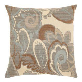 "Elaine Smith 20"" Floral Mist designer throw pillow"