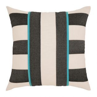 "Elaine Smith 20"" Harmony Stripe designer throw pillow"