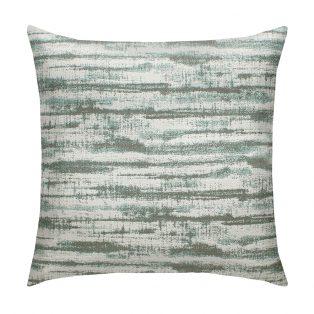 "Elaine Smith 20"" designer outdoor pillow - Linear Mist"