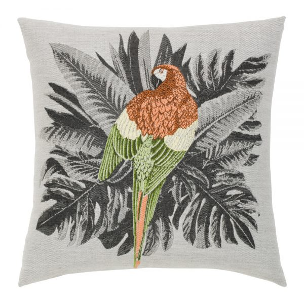 "Elaine Smith 20"" designer pillow - Macaw"