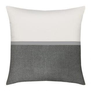 """Elaine Smith 20"""" designer pillow - Mono"""