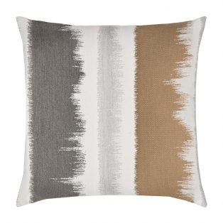 "20"" square Murmur Camel outdoor pillow from Elaine Smith"