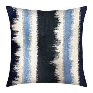 "Elaine Smith 20"" designer pillow - Murmur Midnight"