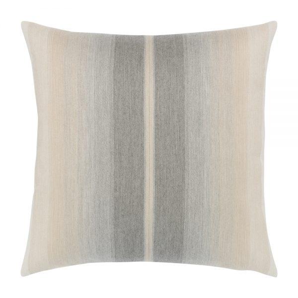 "Elaine Smith 20"" designer pillow - Ombre Grigio"