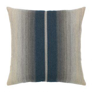 "Elaine Smith 20"" Ombre Indigo designer throw pillow"