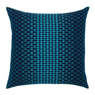 """20"""" square Optic Azure outdoor throw pillow from Elaine Smith"""