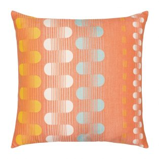 "Elaine Smith 20"" designer pillow - Polka Stripe"