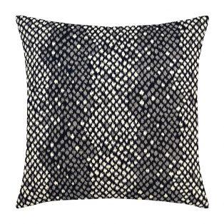 "Elaine Smith 20"" designer pillow - Python Midnight"