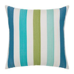 """Elaine Smith 20"""" designer throw pillow - Rhodes Stripe"""