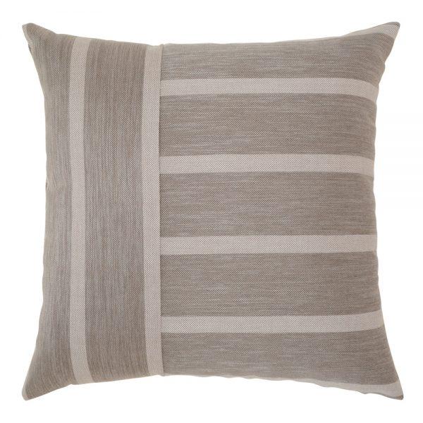 """Elaine Smith Sparkle Stripe 20"""" square outdoor throw pillow"""
