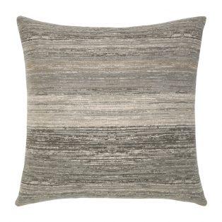 """Elaine Smith 20"""" designer pillow - Textured Grigio"""