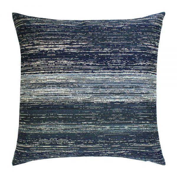 "Elaine Smith 20"" designer pillow - Textured Indigo"