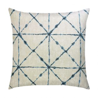 "Elaine Smith 20"" Trilogy Indigo designer pillow"