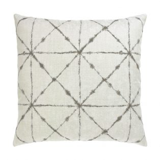 "Elaine Smith 20"" designer pillow - Trilogy Taupe"
