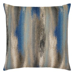 """22"""" square Painterly Mediterranean outdoor throw pillow from Elaine Smith"""