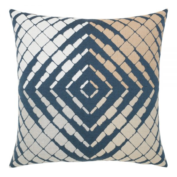 "Elaine Smith Progression 22"" square outdoor pillow"