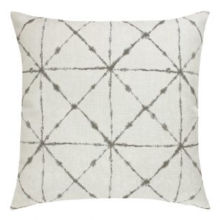 "22"" square Trilogy Taupe outdoor pillow from Elaine Smith"