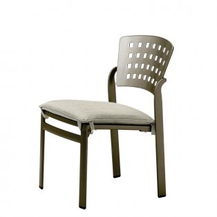 Impressions side chair with seat cushion