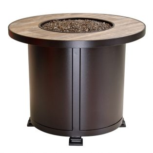 "30"" round chat height Santorini fire pit"