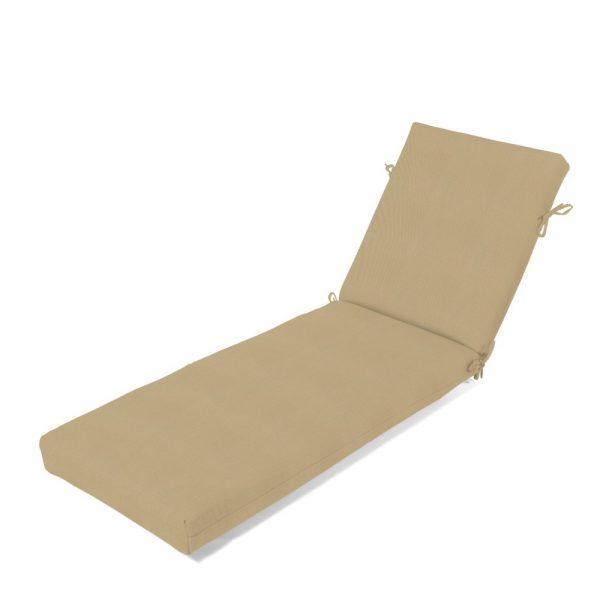 Chaise Cushion - Canvas Heather Beige